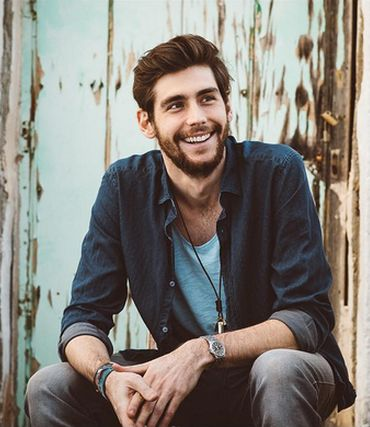 Alvaro Soler, singer from Barcelona, Spain.