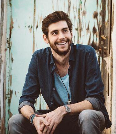 Alvaro Soler, singer from Barcelona, Spain.