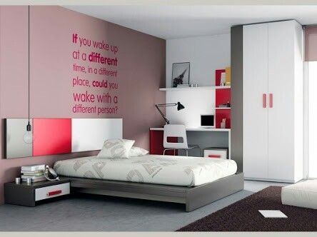 Juvenil decoraci n de interiores pinterest - Decoracion dormitorios juveniles modernos ...