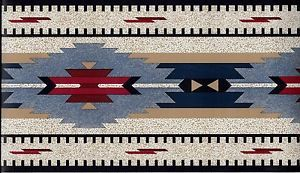 Dan River Mohawk Southwestern WALLPAPER BORDER
