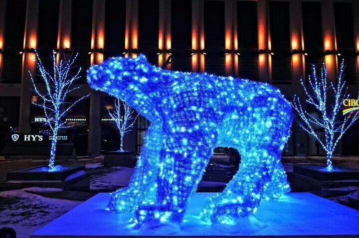 Sculpture in Winnipeg Canada