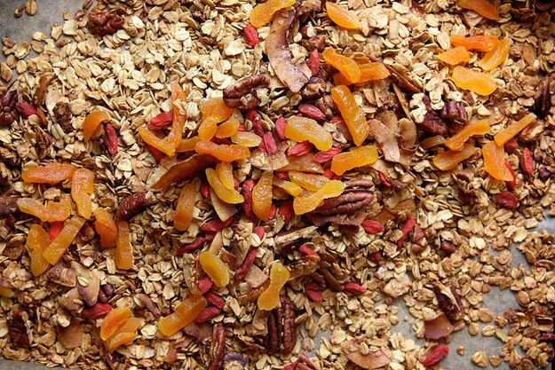 DRIED FRUIT — 1 cup (add after baking) | How To Make The Best Granola Ever