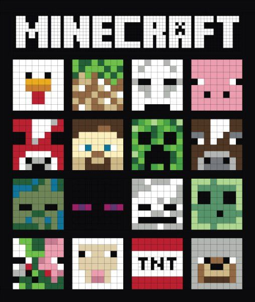 MineCraft Quilt-A-Long