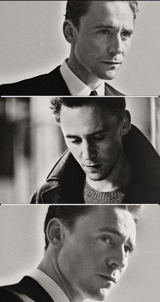 Tom Hiddleston (I was laughing really hard at another pin and then I saw Tom and just sorta stopped because it is so beautiful)