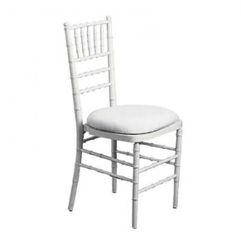 WHITE TIFFANY CHAIR HIRE.   The perfect wedding chair. Comfortable padded seat. Made from resin, these chairs are super sturdy, whilst its delicate details makes it super pretty!  Tiffany Chair | Chair Hire | Your Event Solution | YES #weddings #YourEventSolution