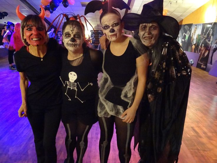 These ladies really got their spook on for a #Halloween BODYATTACK™ class! #healthyandhaunted