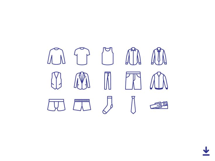 Clothing Icons by Alex Pour