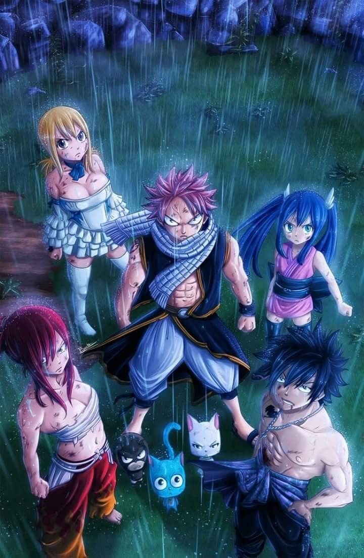 Fairy tail strongest team Natsu x Gray x Erza x Lucy x Wendy | Fairy