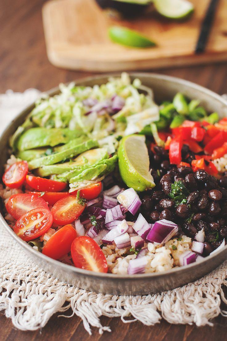 Vegan Cantina Bowls (Or Chicken, Shrimp, Steak or Venison Cantina Bowls!)