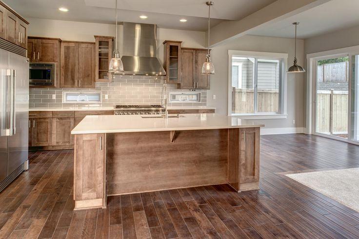 Beautiful open kitchen found at the Astoria home in Sammamish, Washington