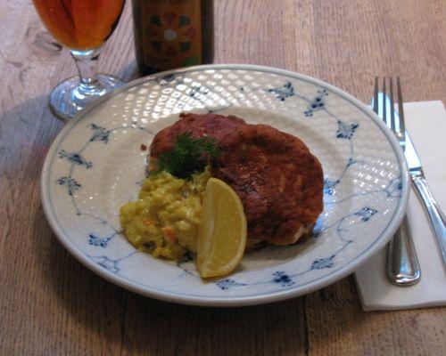 fiskefrikadeller remoulade opskrift smørrebrød restaurant kronborg københavn