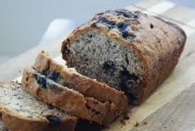 Homemade Lavender Blueberry Banana Bread - I love cooking with Young Living essential oils. They add such a twist to your foods!