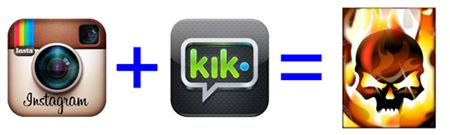 Parents Beware: Instagram & Kik Messenger Are A Dangerous Combination & What Social Dangers to Check For