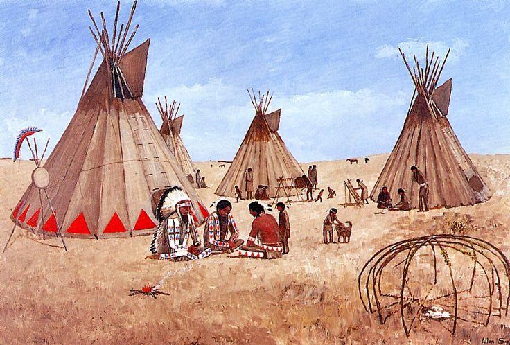 Allen-Sapp-Those-Were-Happy-Times early Saskatchewan