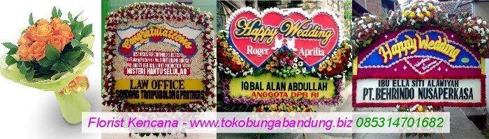 Toko Bunga Bandung | Toko Florist di Bandung - Rangkaian Bunga Ucapan Selamat dan Sukses: Kirim Bunga Papan Pernikahan Ke Wedding House The ...