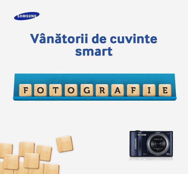 """Avem o provocare pentru voi Care sunt cuvintele pe care le puteți forma cu literele care fac parte din cuvântul """"FOTOGRAFIE"""" și... care ar putea fi pozate cu un aparat foto? Hint: unul dintre ele poate fi TOGA."""