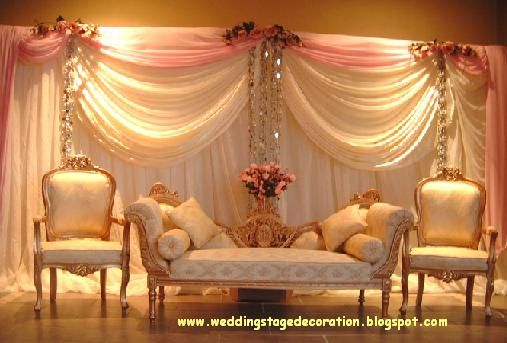 Indian Decorations From India Wedding Stage Decoration