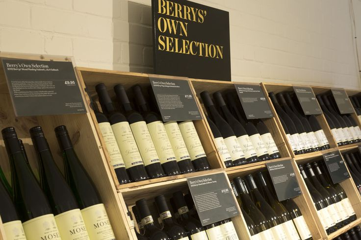 Our Own Selection wines at our Warehouse Shop in Basingstoke, Hampshire. Photography by Joakim Blockstrom.