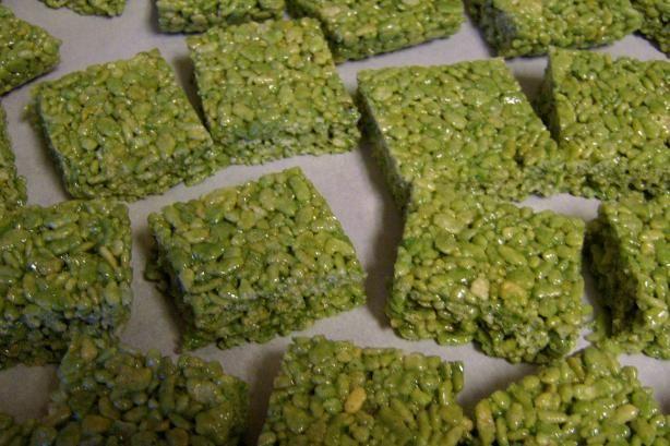 St. Patrick s Day Rice Krispie Treats