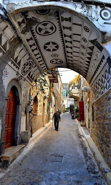 Visit Greece | Take A Walk.. #Chios #Island, #Greece #visitgreece