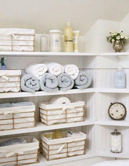 10 besten Organization PORN Bilder auf Pinterest Rund ums haus - klug badezimmer design stauraum organisieren