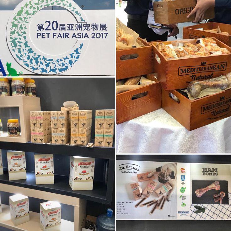 Por segundo año consecutivo Mediterranean Natural ha estado presente en Pet Fair Asia (Shanghai-China), la feria del sector mascotas más importante del continente asiático. Gracias a la excelente valoración de nuestros productos, muy pronto nuevos países contarán con nuestra marca para hacer a sus perros más felices ¡Muchísimas gracias por la acogida!