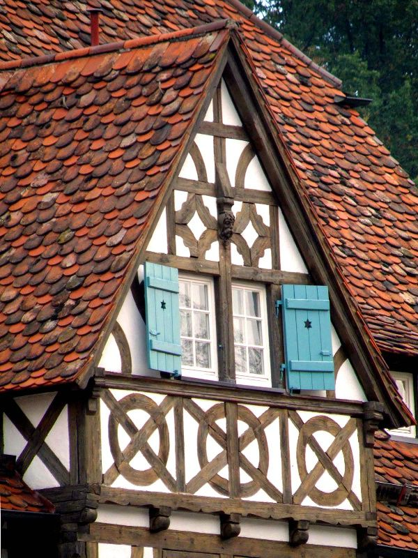 Half-timbered house, Maulbronn Monastery complex~Germany