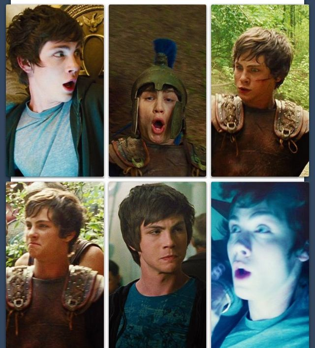 The faces of Percy Jackson<----------- NOT PERCY JACKSON! THE FANDOM WILL NOT ACCEPT IT! THAT IS LOGAN LERMAN