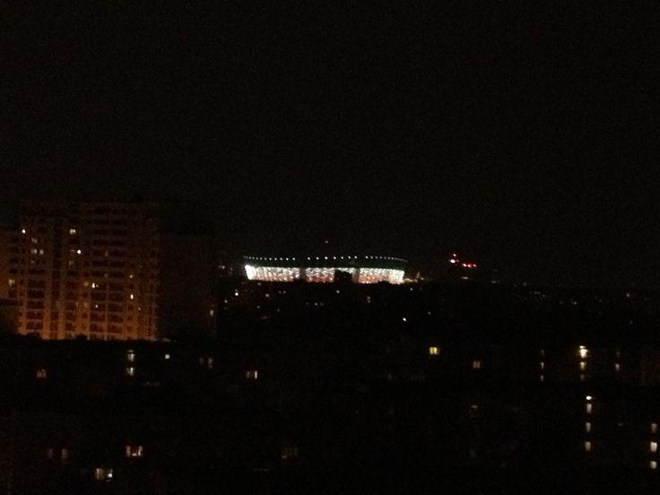 Warszafka nocą:)/ Warsaw by night