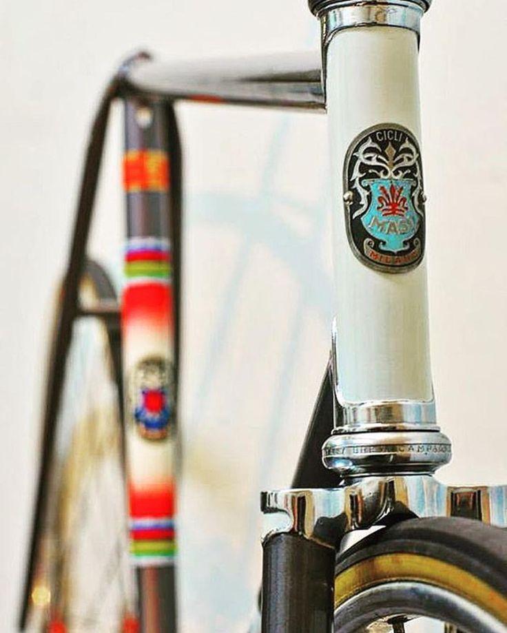 Masi Pista 70's build by Faliero.  from eBay. #masi #campagnolo #pista #track #bikeporn