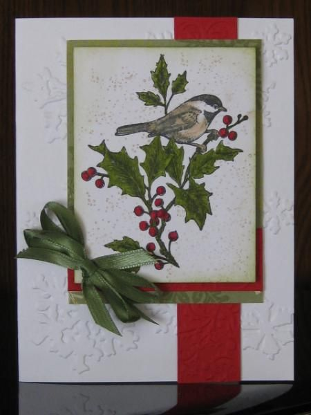 SC467, Winter Bird by jdmommy - Cards and Paper Crafts at Splitcoaststampers