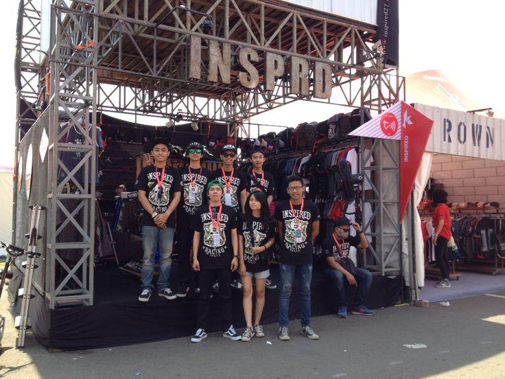 Hello loyal people's Booth #20, akan ada spesial disc hari ini! www.inspired27.com