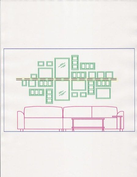 Home Decor: Creating a Picture Wall