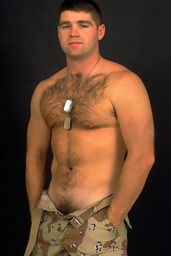Gay sexy muscular military men naked black 7