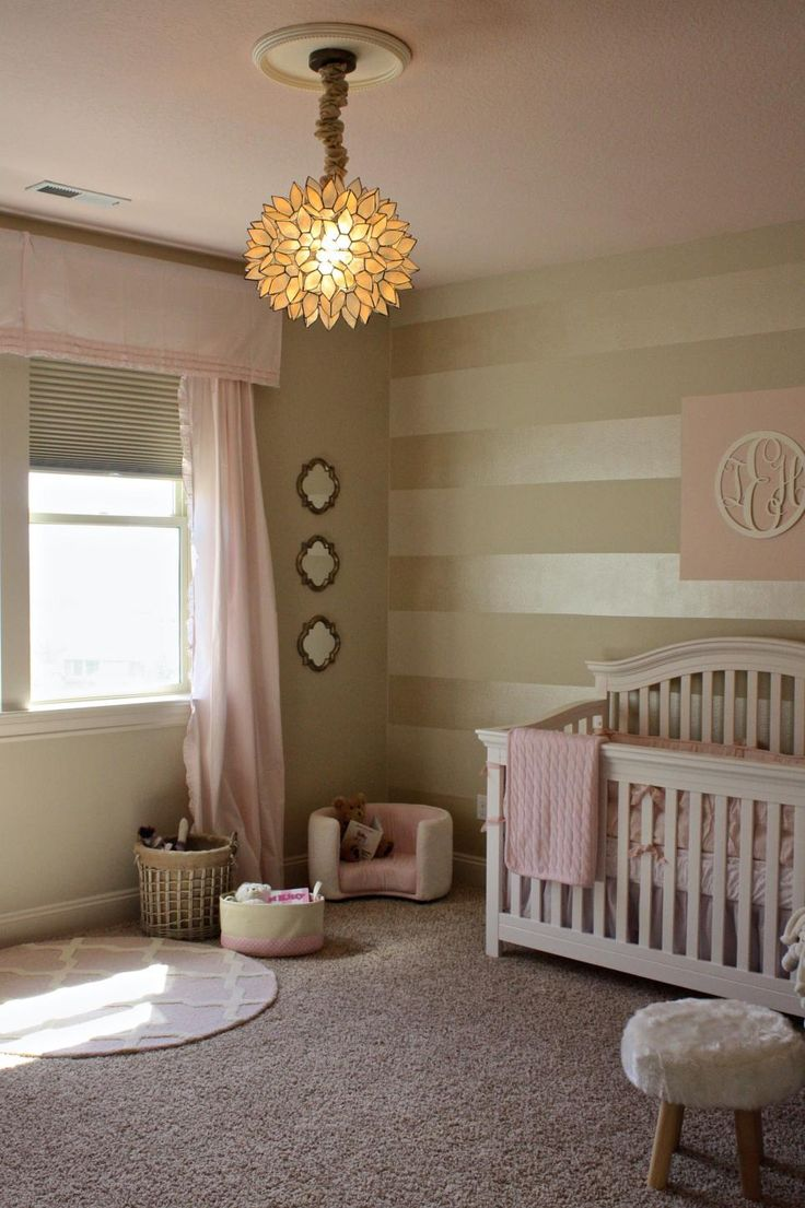 Best 25 striped walls nursery ideas on pinterest Nursery wall ideas