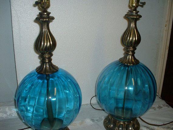 1960's Vintage Lamps