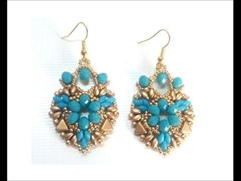 Orecchini Corazon ( DIY - Corazon Earrings) - YouTube