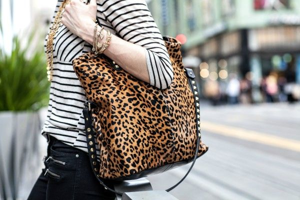 MCLV Style: Animal Prints & Stripes | Moi Contre La VieMoi Contre La Vie - Animal prints, stripes & vintage jewelry