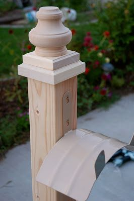 "Wooden Hose Holder - Instructions - You will need:     4X4"" x 8' post (cut in half),  4"" turned bun foot,  1 1/8"" x 4 - 1/2"" x 4 - 1/2"" Hardwood Rosette,  7/8"" x 3 - 3/4"" x 3 - 3/4"" Hardwood Rosette,  Hose Hanger"