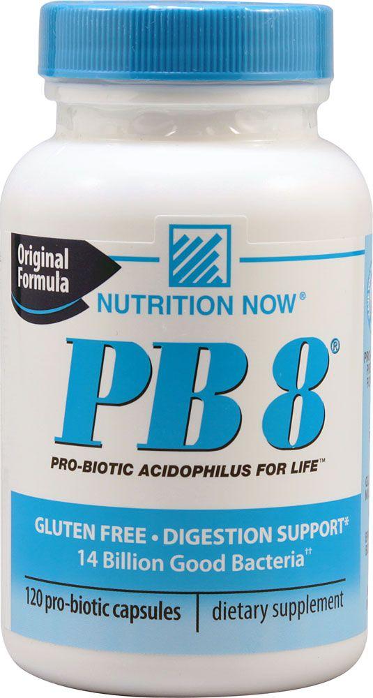 Nutrition Now PB 8® Probiotic -- 120 Capsules | Probiotics ...