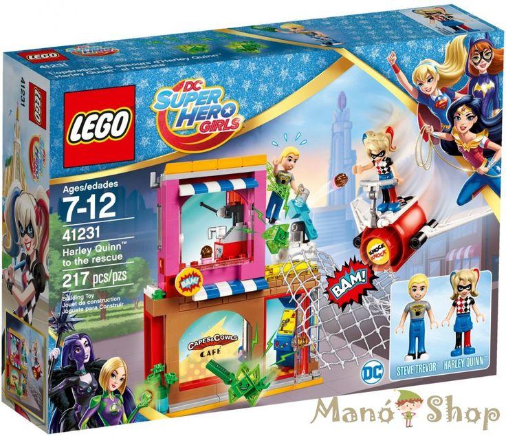 LEGO HARLEY QUINN™ A MEGMENTŐ 41231
