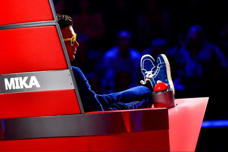 Mika in The Voice