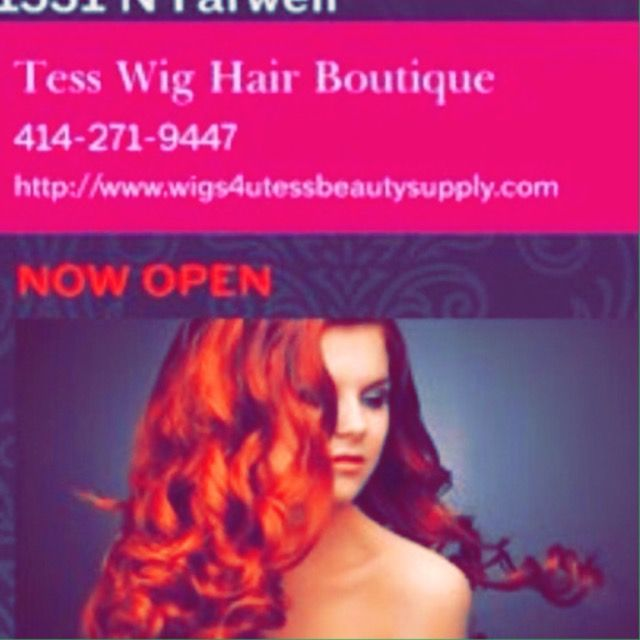 414 271 9447 Milwaukee Wisconsin Hair Supply Shop Halo HairReal WigsHair Extension
