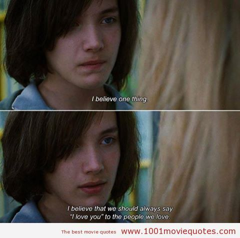 Mr. Nobody (2009) My favorite quotes from this movie