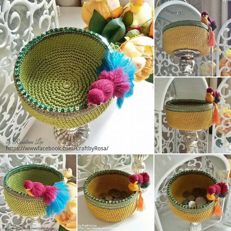 Crochet Basket Bird ...