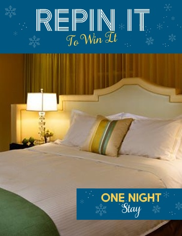 You deserve a night of glamour and luxury. Win one at Hotel