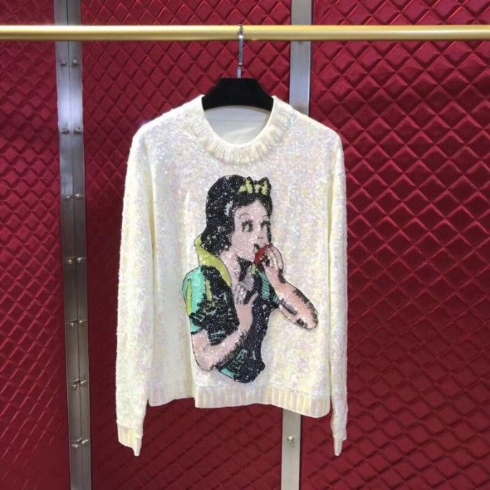 19cba68ab7f Gucci Snow White sweater with sequins 511701 in 2019