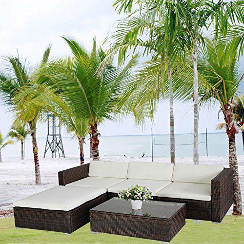 17 best ideas about polyrattan lounge set on pinterest, Garten und Bauen