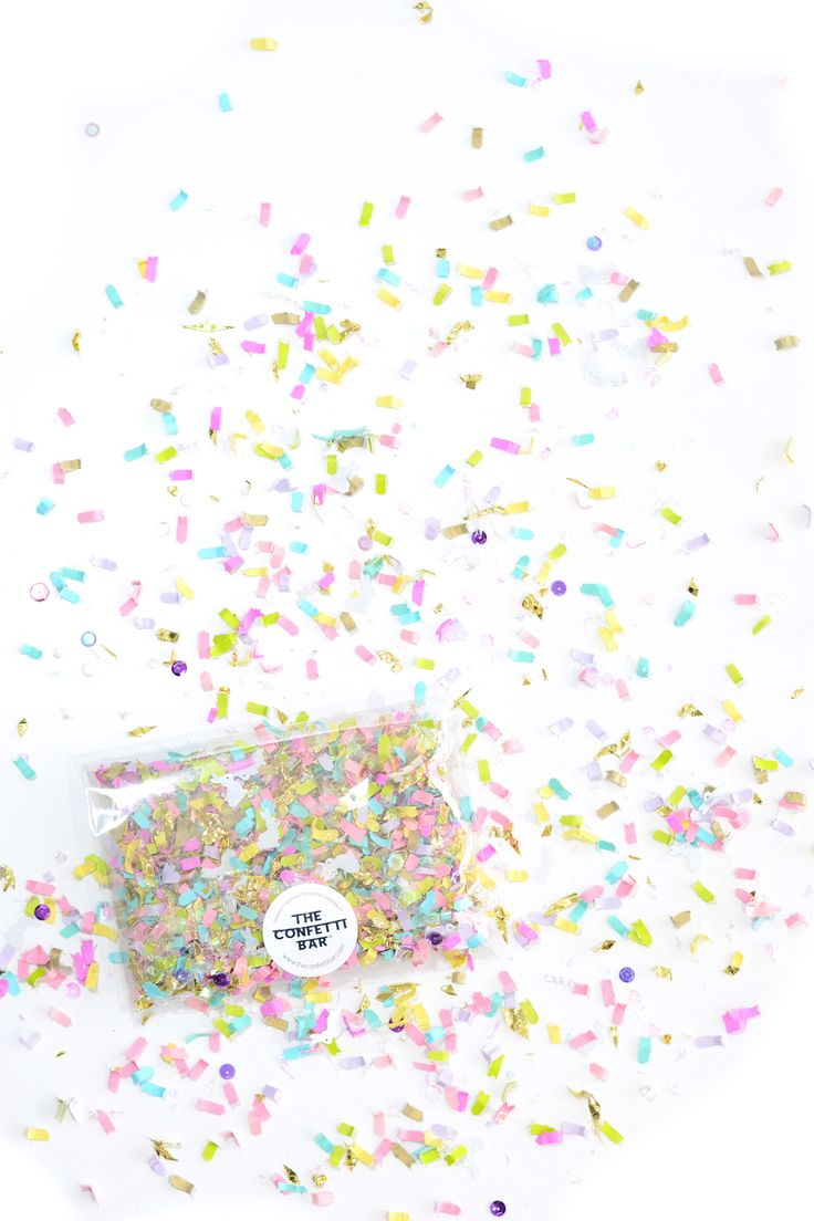April 2017 Confetti of the Month Club Box by The Confetti Bar
