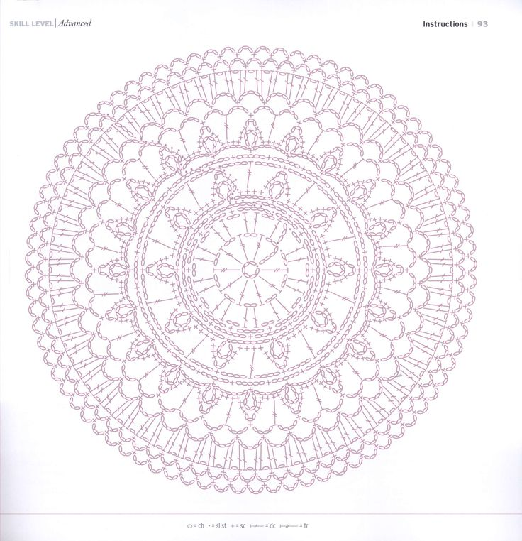 537 best crochet small circle images on pinterest doilies crochet 00091g ccuart Image collections